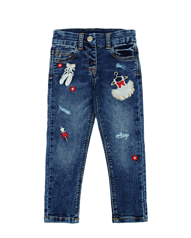 Купить со скидкой Брюки джинсовые MonnaLisa Bebe