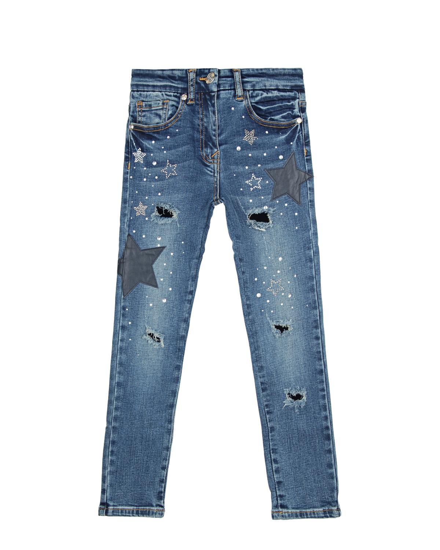 Брюки джинсовые MonnaLisa ChicДжинсы<br><br>