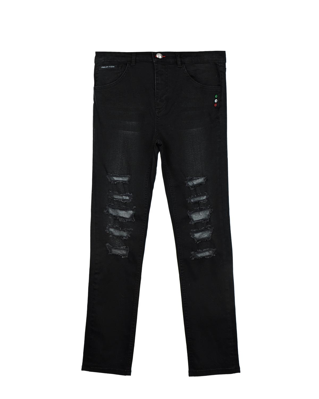 Брюки джинсовые Philipp PleinДжинсы<br><br>
