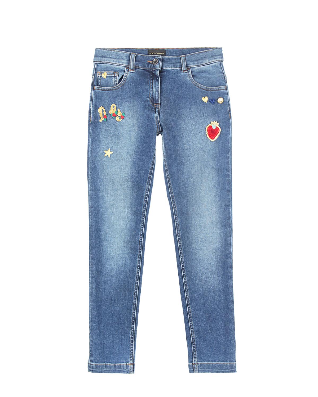 Брюки джинсовые Dolce&amp;GabbanaДжинсы<br><br>