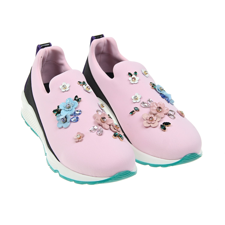 Кроссовки Dolce&amp;Gabbana для девочекКроссовки<br><br>