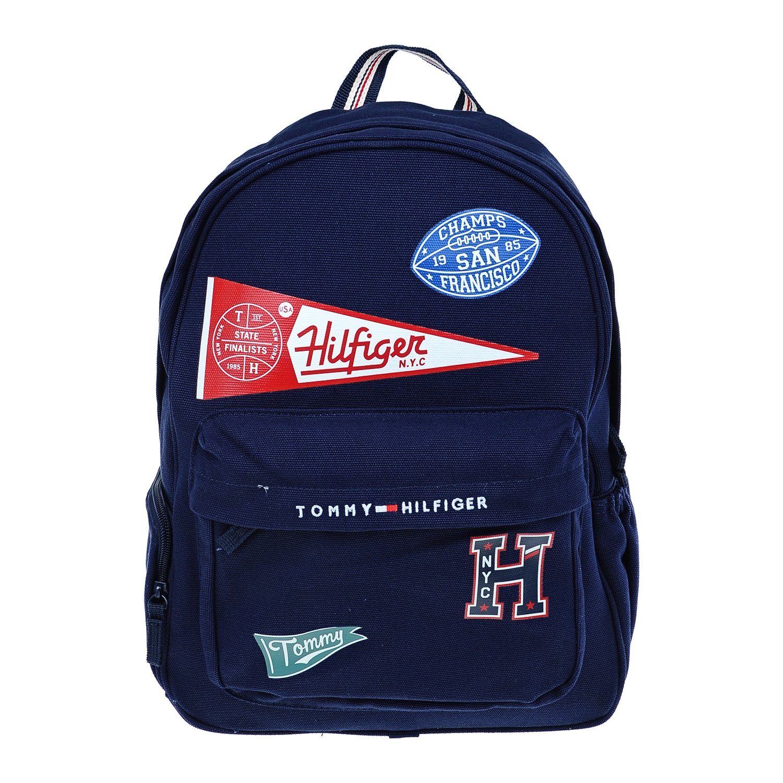 Рюкзак Tommy Hilfiger бейсбольные нашивки надпись лого