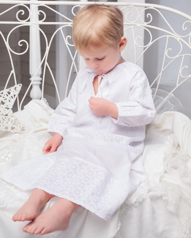Купить Крестильная сорочка Choupette детская, Белый, 100%хлопок