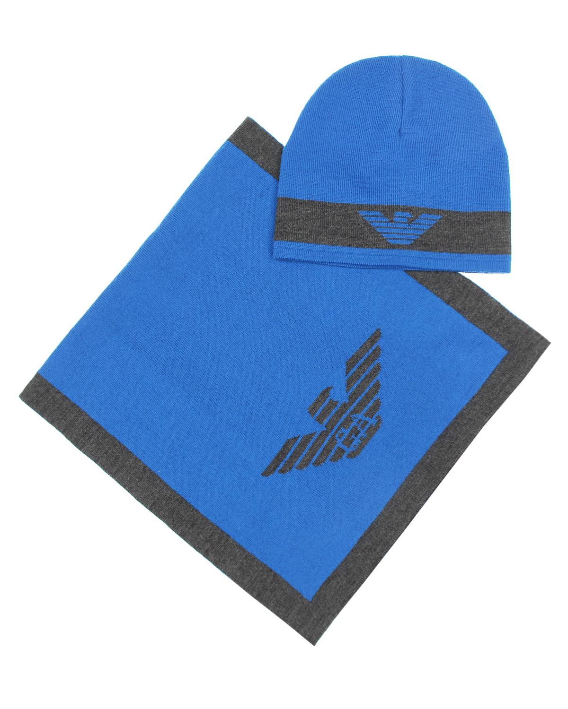 Комплект 2 предм. Armani JuniorКомплекты (шарф, шапка)<br><br>