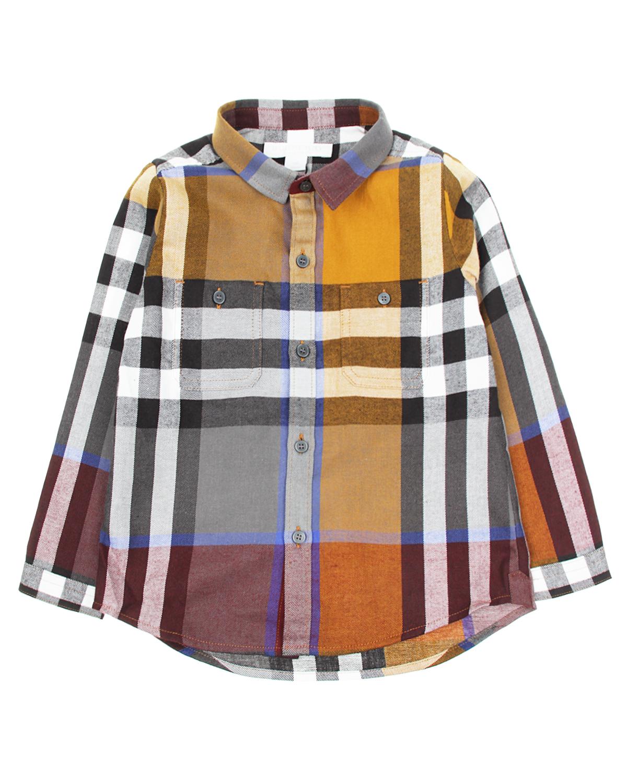 Рубашка д/р BurberryБлузы, Рубашки, Туники<br><br>