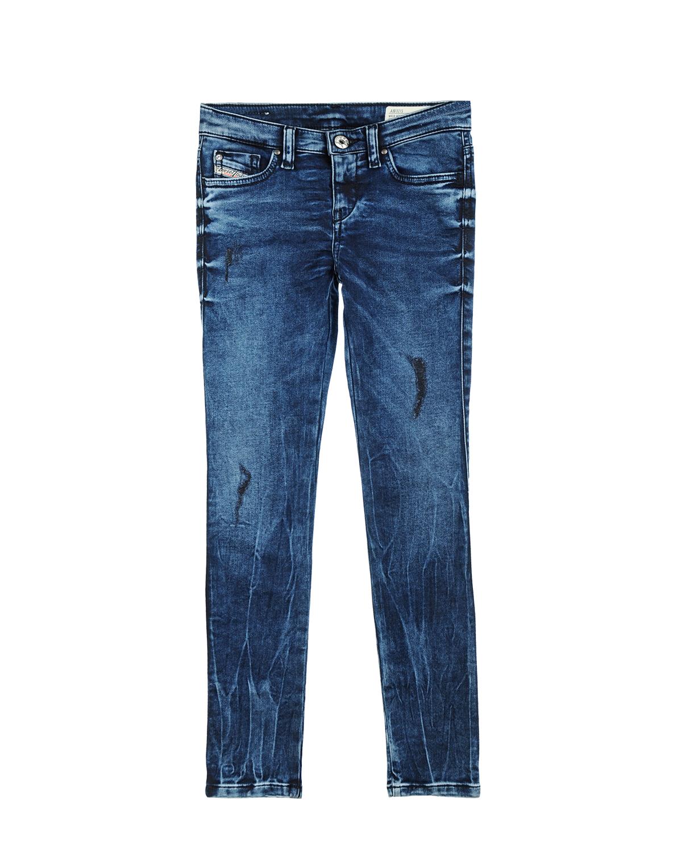 Брюки джинсовые Diesel для девочекДжинсы<br><br>