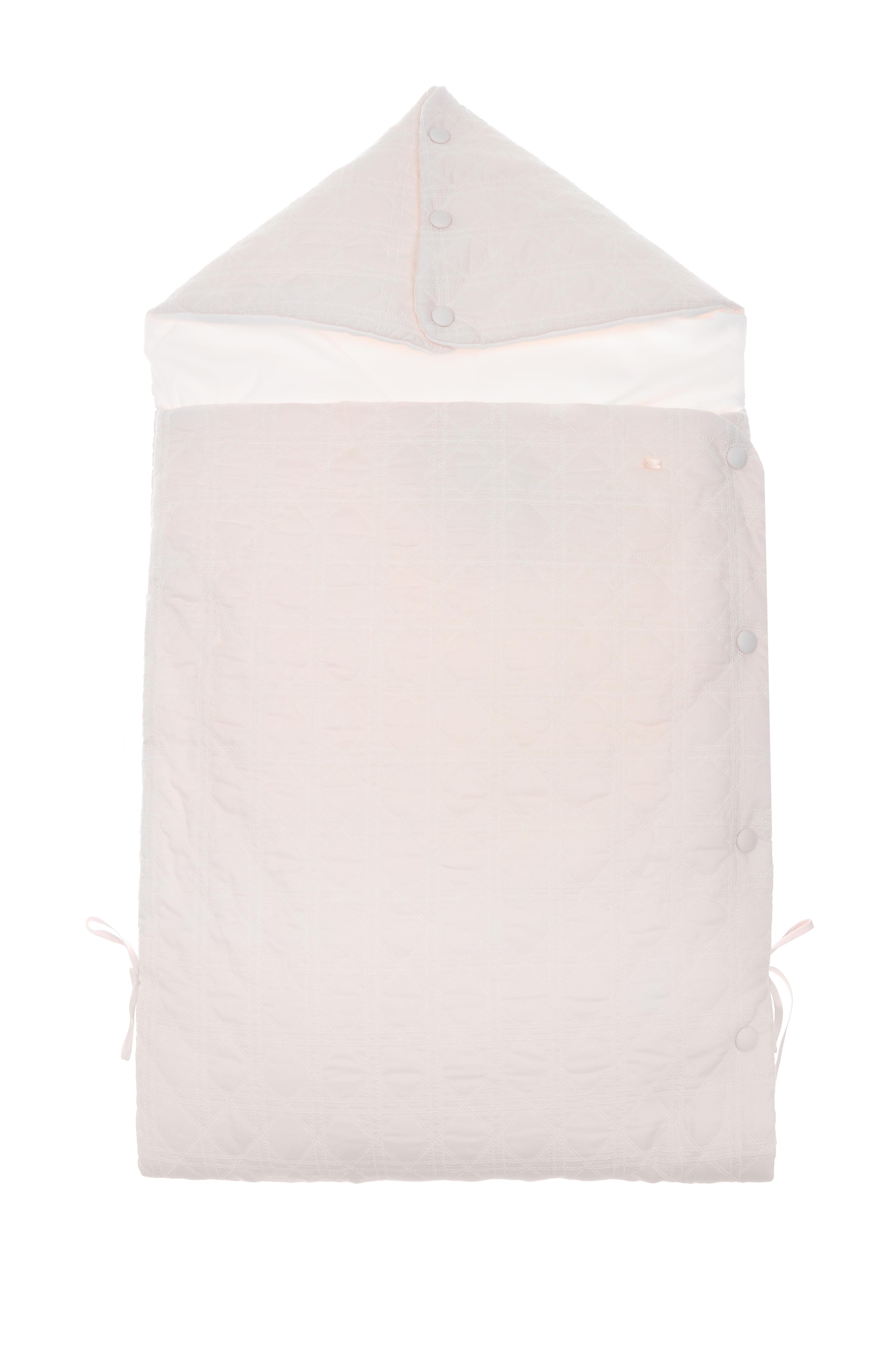 Розовый конверт для новорожденного с вышивкой «Cannage»Конверты<br><br>