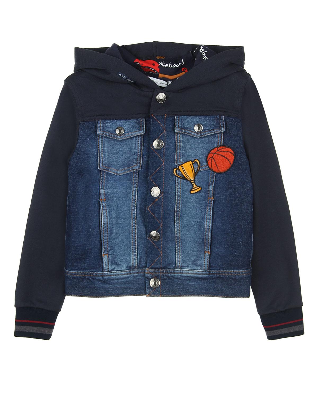Куртка джинсовая Dolce&amp;GabbanaДжинсовые куртки и жилеты<br><br>