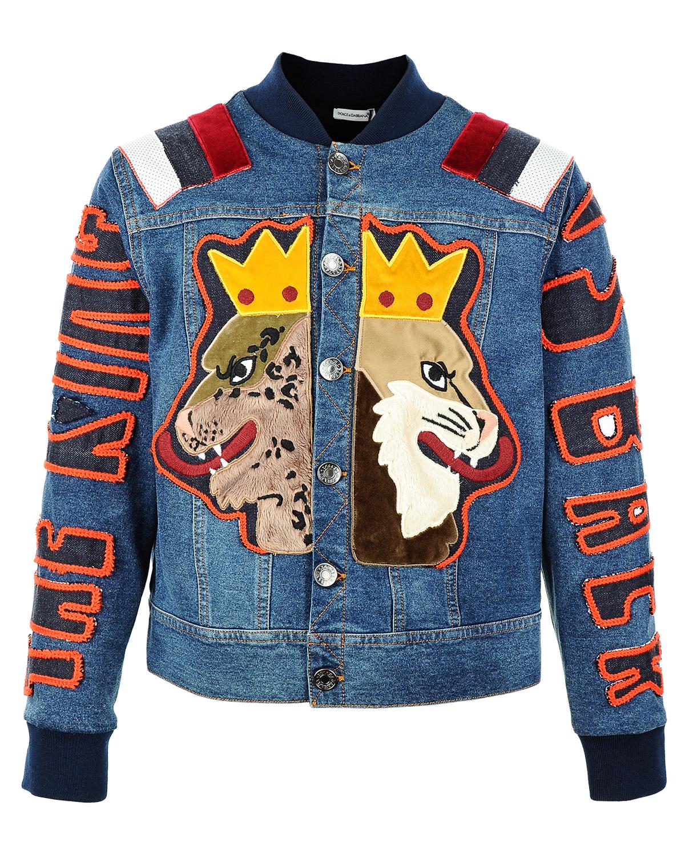 Куртка Dolce&amp;GabbanaДжинсовые куртки и жилеты<br><br>