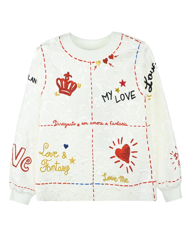 Свитшот Dolce&amp;GabbanaТолстовки, Свитшоты<br><br>
