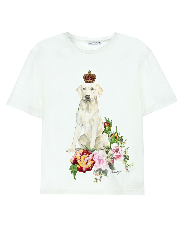 Купить со скидкой Футболка Dolce&Gabbana