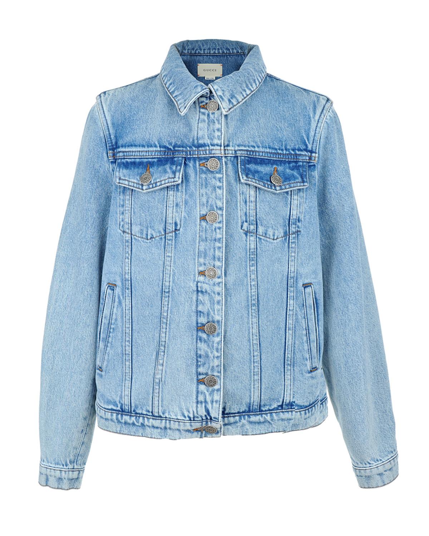 Куртка джинсовая GucciДжинсовые куртки и жилеты<br><br>