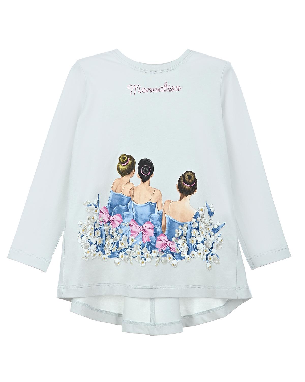 Туника Monnalisa для девочекБлузы, Рубашки, Туники<br><br>