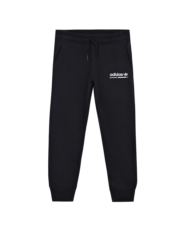 Купить Спортивные брюки из хлопка Adidas детские, Черный, 100%хлопок