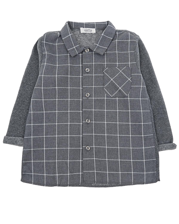Купить со скидкой Рубашка с нагрудным карманом Aletta детская