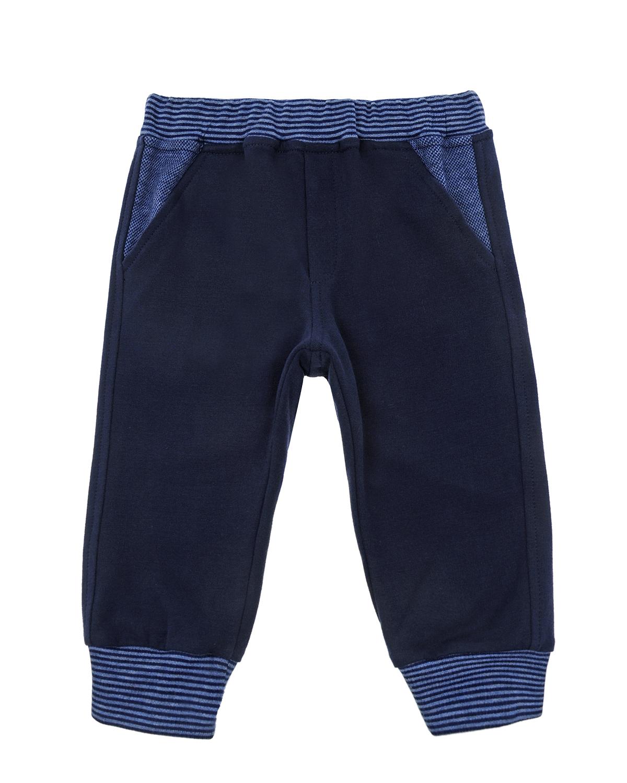 Купить Спортивный костюм из толстовки и брюк Aletta детский, Синий, 98%хлопок+2%полиамид, 94%хлопок+6%эластан