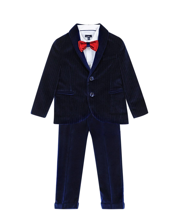 Вельветовый костюм из трех деталей Baby A детский фото