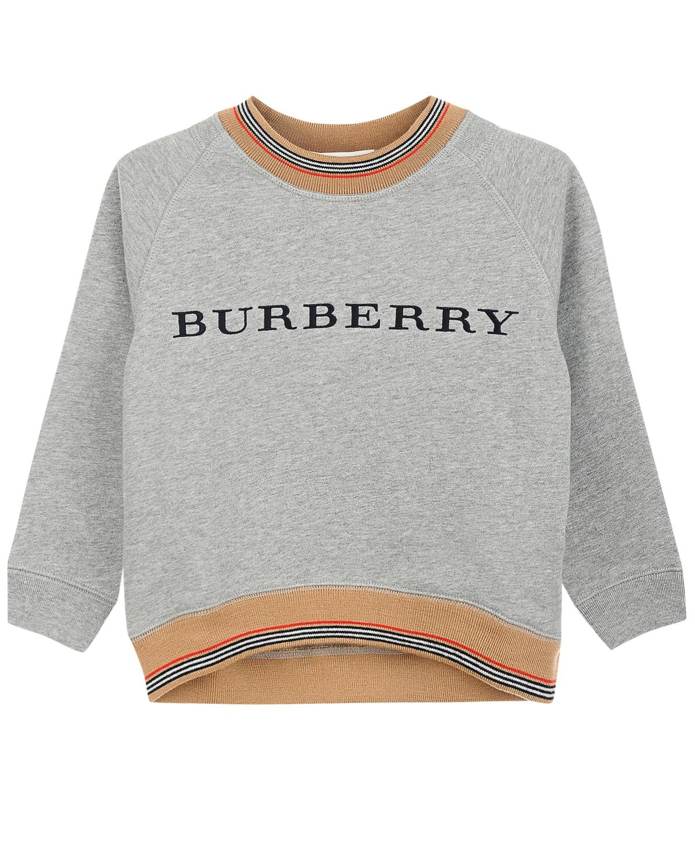 свитшот burberry для мальчика