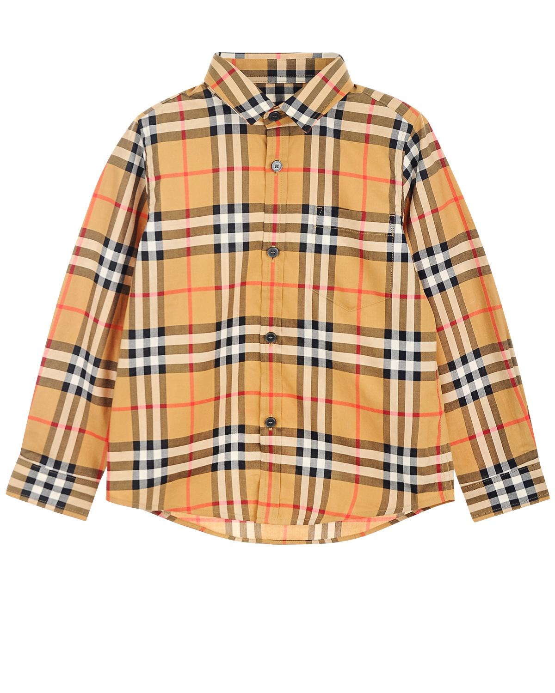 Рубашка Burberry детская фото