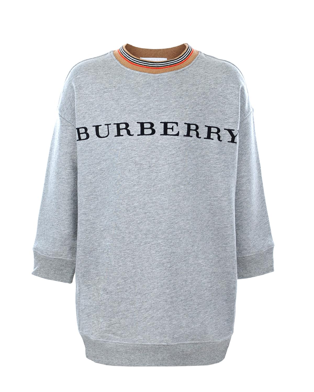 свитшот burberry для девочки