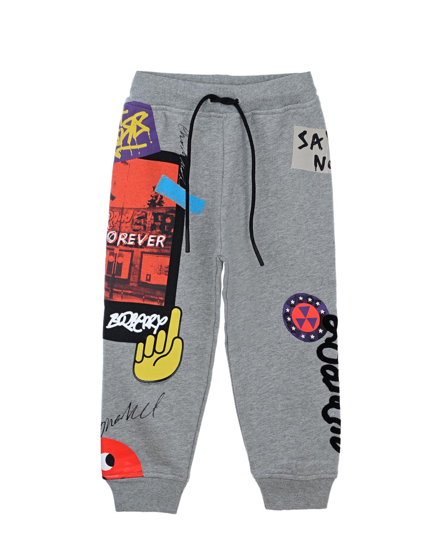 спортивные брюки burberry для девочки