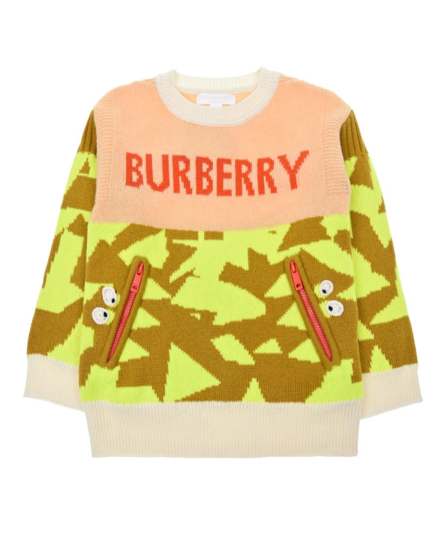 джемпер burberry для девочки