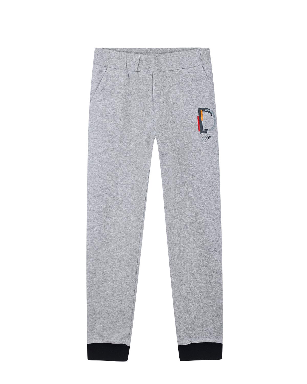 """Спортивные брюки с принтом """"D is for Dior"""""""