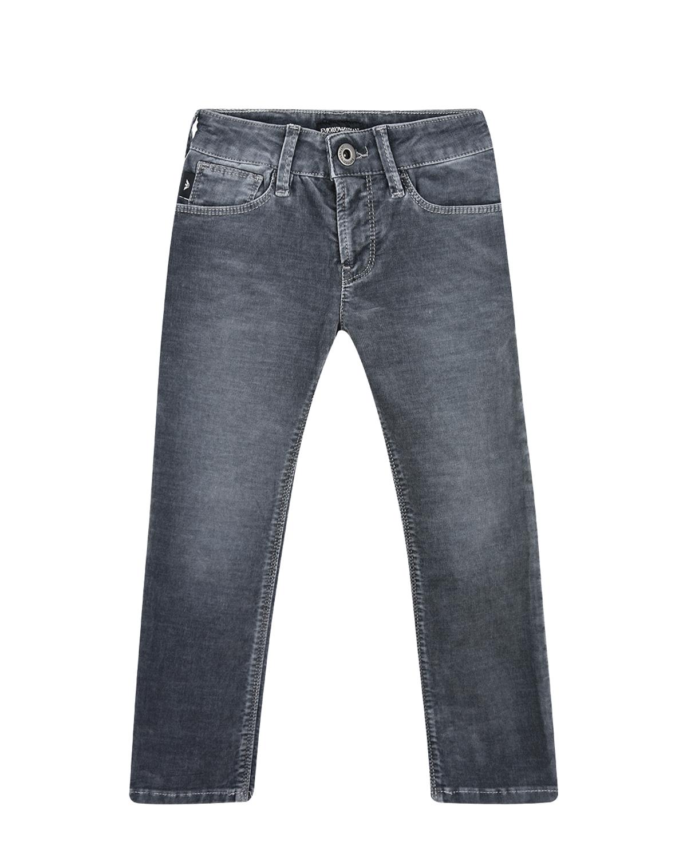 Синие брюки из денима Emporio Armani