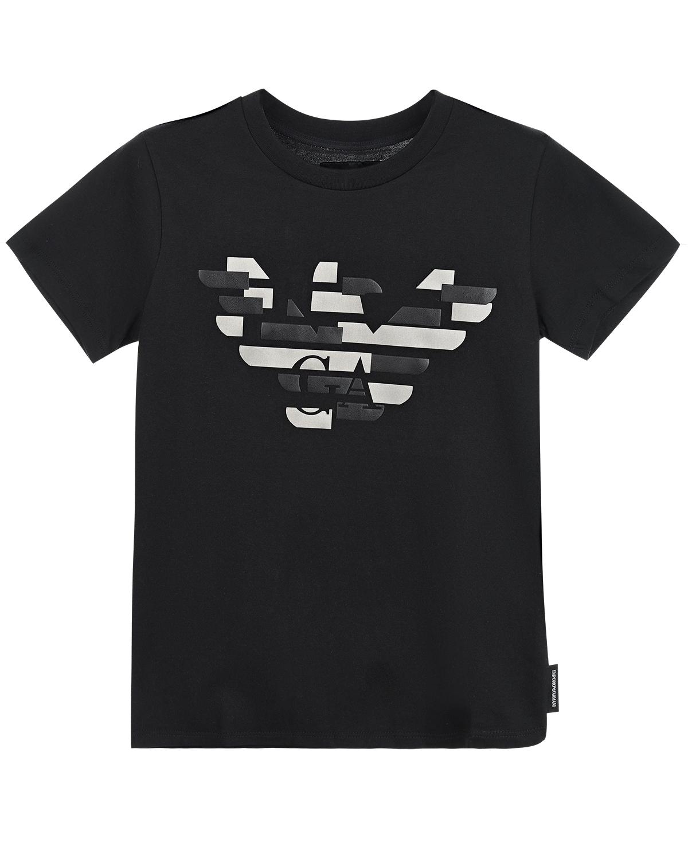футболка emporio armani для мальчика