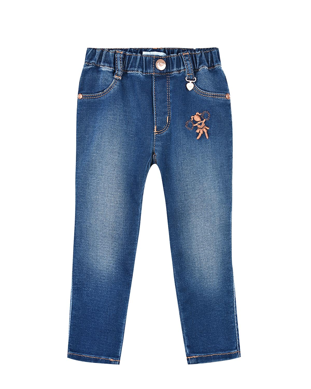 Джинсовые брюки на резинке Emporio Armani