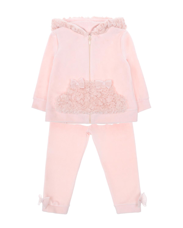 Купить Костюм спортивный Ladia Chic детский, Розовый, 100%хлопок