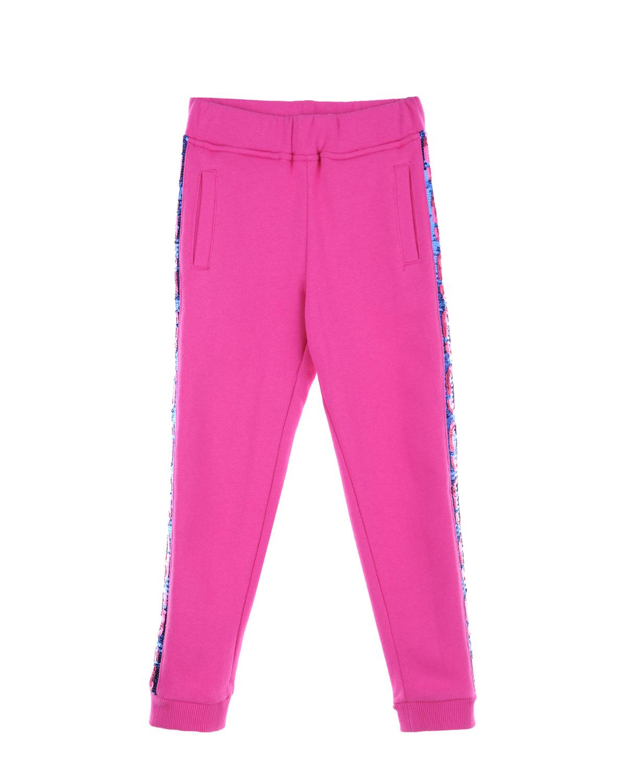 спортивные брюки little marc jacobs для девочки