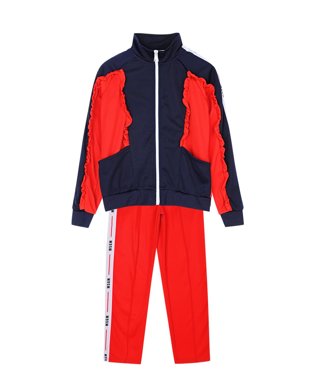 спортивный костюм msgm для девочки