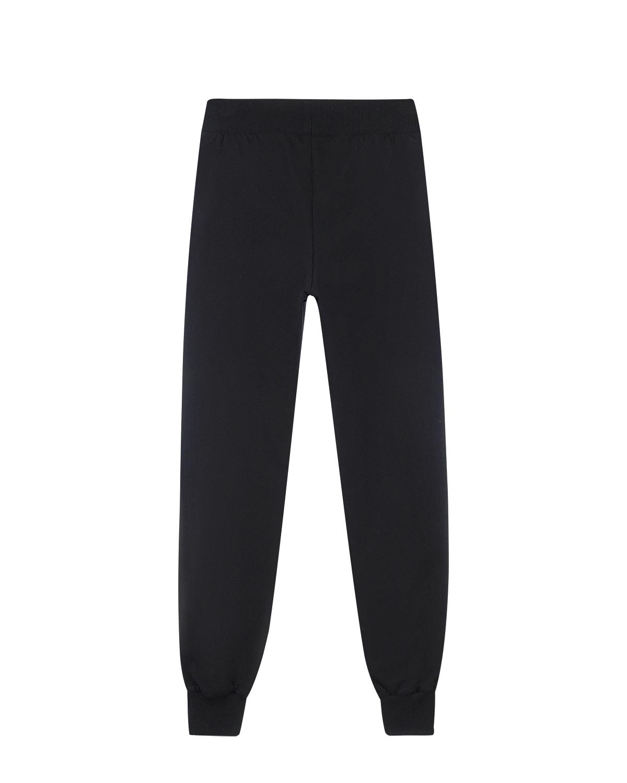 Спортивные брюки с вышивкой Moschino детские фото