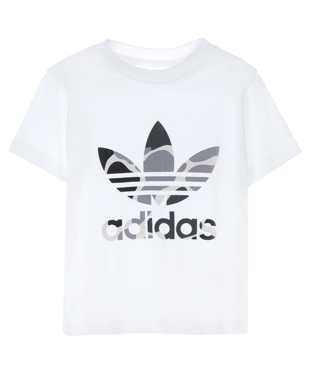Купить Футболка из хлопка с логотипом Adidas