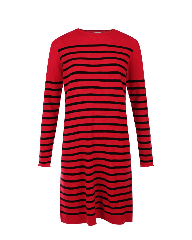 Купить Платье из шерсти и кашемира в полоску Allude