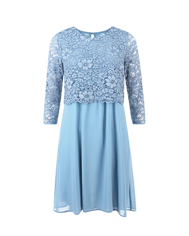 Купить со скидкой Платье для беременных Attesa из шифона с кружевом