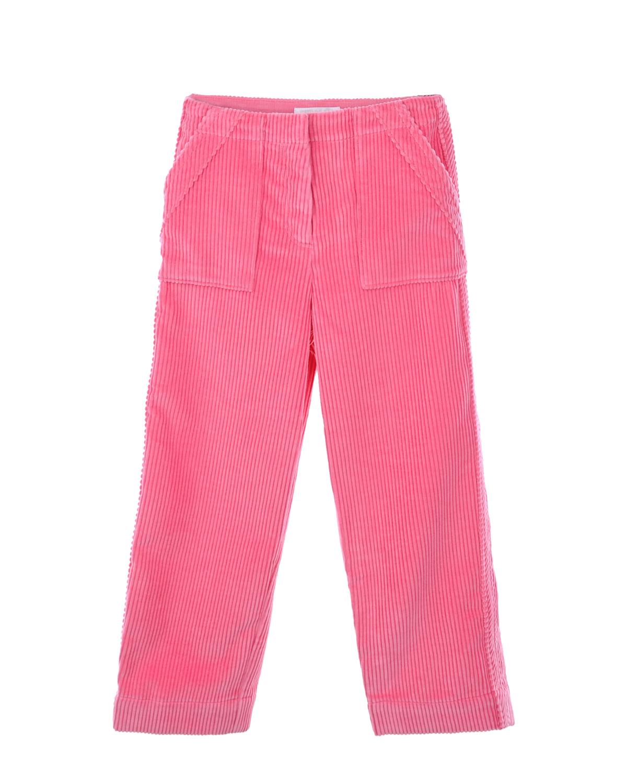 Розовые вельветовые брюки Burberry