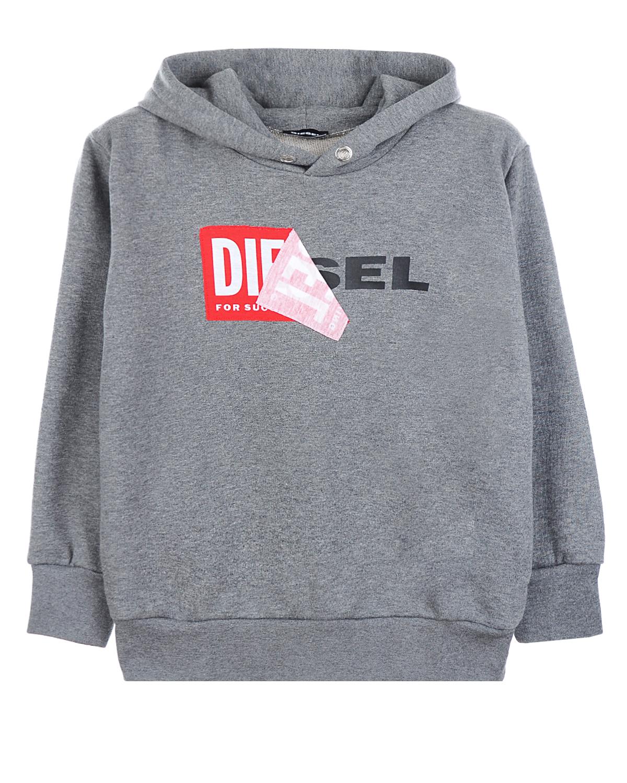 Купить Толстовка-худи Diesel