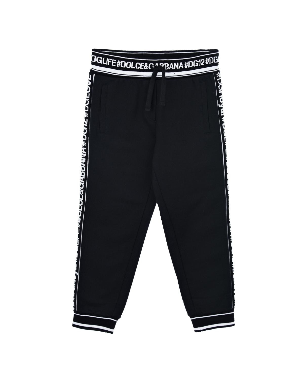 спортивные брюки dolce & gabbana для девочки
