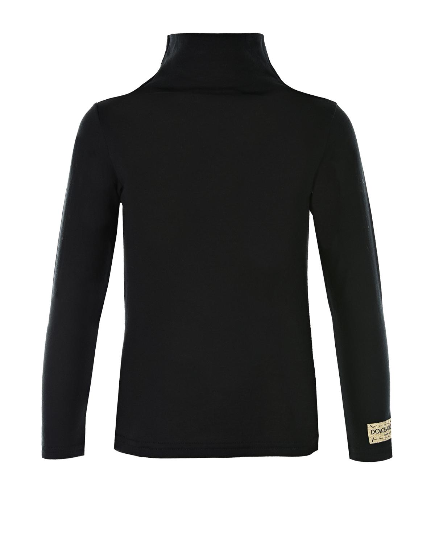 Водолазка из хлопка с декоративной нашивкой на рукаве, Dolce&Gabbana  - купить со скидкой