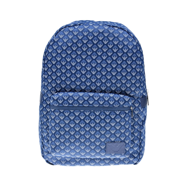 Текстильный рюкзак с логотипом Emporio Armani