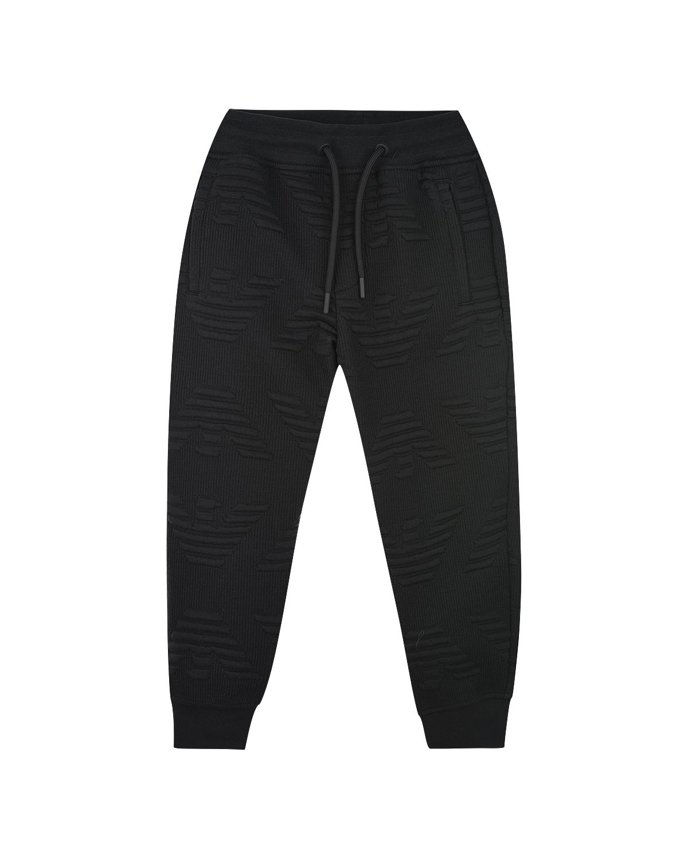 Купить со скидкой Спортивные брюки с рельефной фактурой