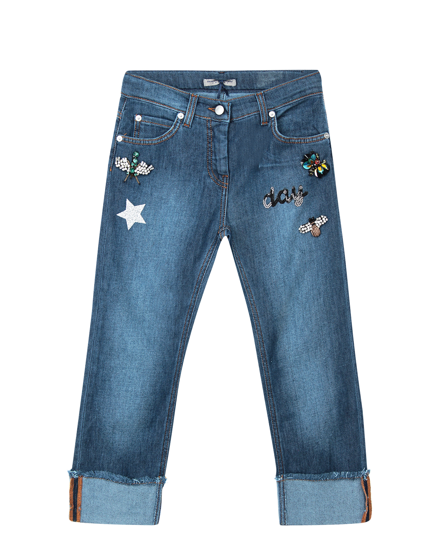 брюки ermanno scervino для девочки