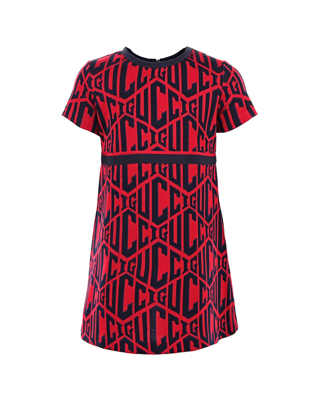 Купить со скидкой Платье из хлопка с короткими рукавами