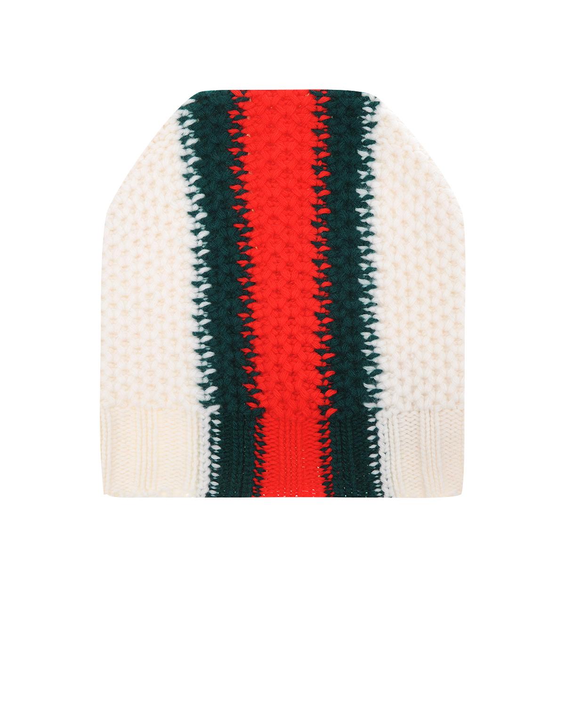 Фактурная вязаная шапка GUCCI