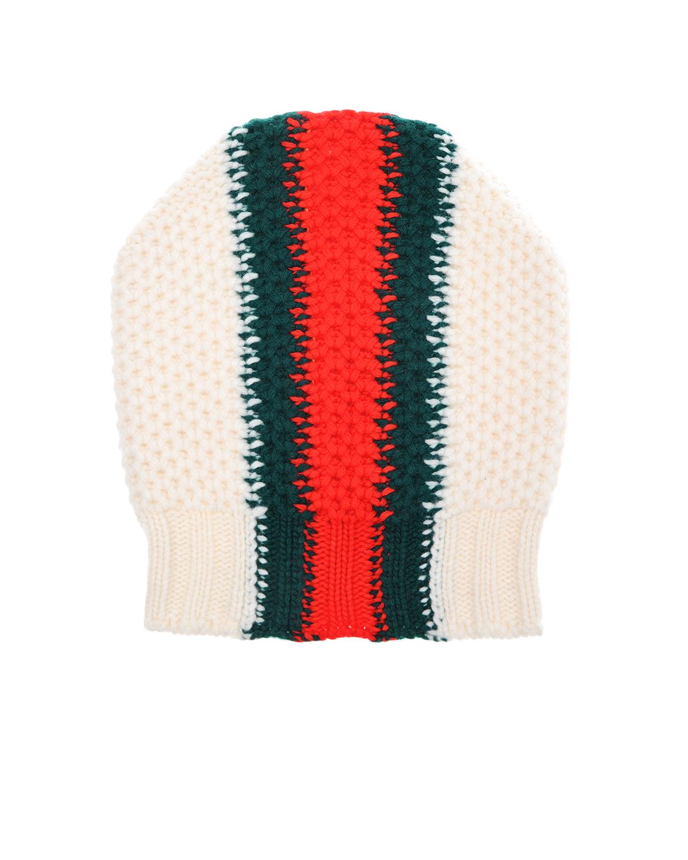 Купить Фактурная вязаная шапка GUCCI