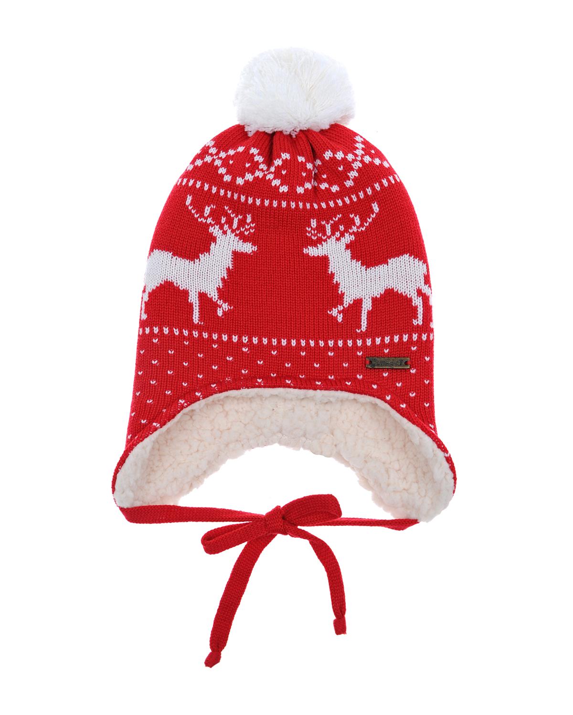 Купить Шапка из шерсти с флисовой подкладкой Il Trenino