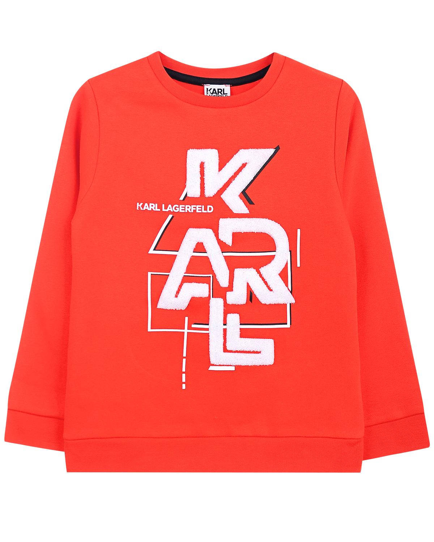 Купить Свитшот с логотипом, Karl Lagerfeld