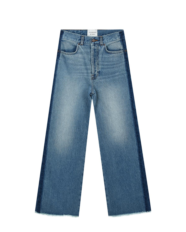 Купить со скидкой Расклешенные джинсы с высокой посадкой